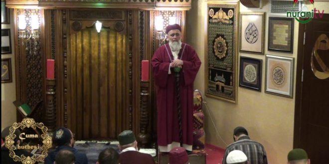 13.10.2017 Cuma Hutbesi (ALLAH'ın ipine topluca sımsıkı sarılın-Ali İmran 103 )