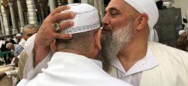 Fatih Nurullah Efendi Hz Almanyadan Nakşibendi Mustafa Efendi ile Beytullahda görüşme anı…