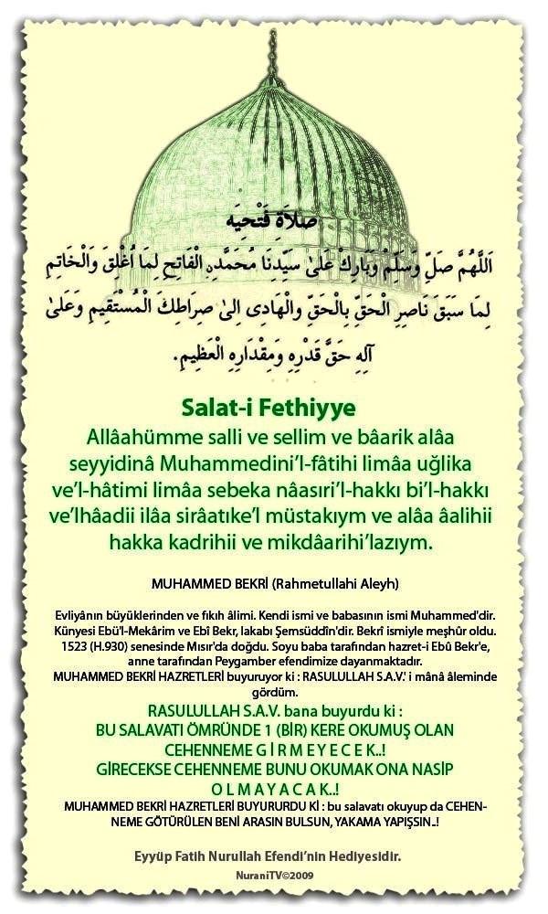 Salât-ı Fethiyye