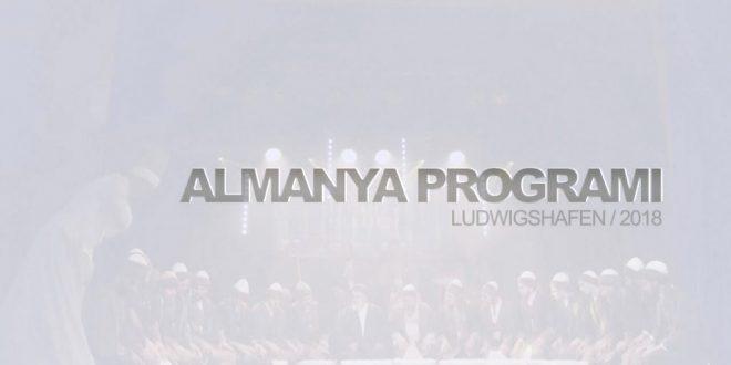 Almanya Salon Programı – Ludwigshafen 2018