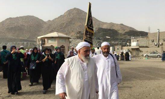2016 Ramazan umresi Arafat ziyareti