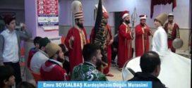 Fatih Nurullah Efendi Hz, Emre Soysalbaş kardeşimizin düğün merasimine teşrif ettiler KASIMPAŞA 22.05.2016