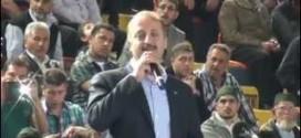 Mamak Belediye Başkanı Mesut Akgül Mamak Kapalı Spor Salonu Konuşması 2015