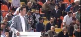 Başbakan Yardımcısı Sn Emrullah İŞLER Mamak Spor Salonu Konuşması 2015
