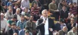 Ak Parti 1. B.M. Adayı Murat Alparslan Mamak Spor Salonu Konuşması 2015