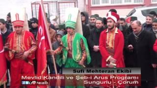 Sufi Mehteran Gösterisi Sungurlu / Çorum