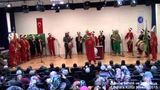 Mevlid Kandili ve Şeb-i Arus Programı Buhara Kültür Merkezi Çorum 23.12.2015