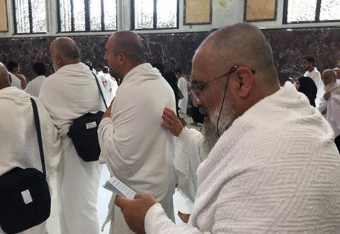 2016 Ramazan Umre kafilemiz sefa mervede sayı yaparken.